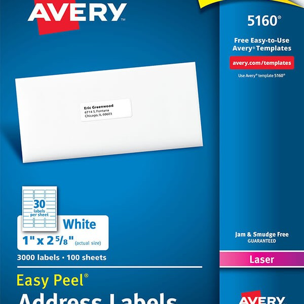 avery 5160 address labels koni polycode co