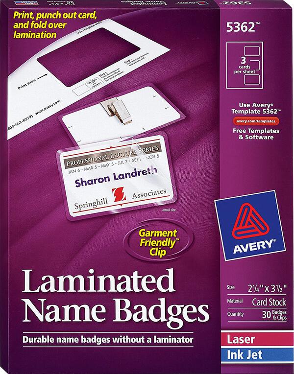 avery u00ae laminated name badges-5362