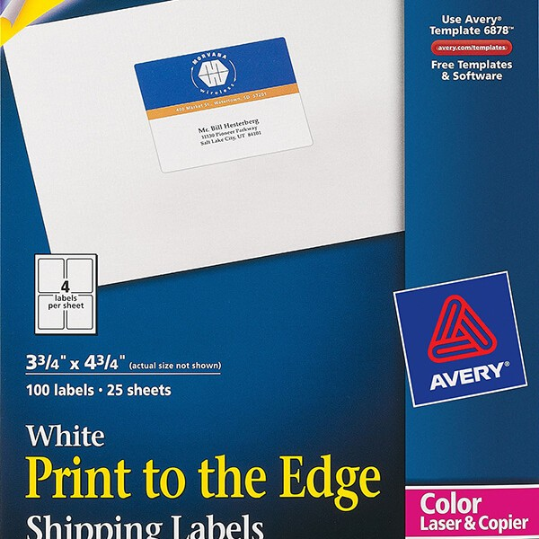 Avery print to the edge shipping labels 6878 avery online singapore avery print to the edge shipping labels 6878 saigontimesfo