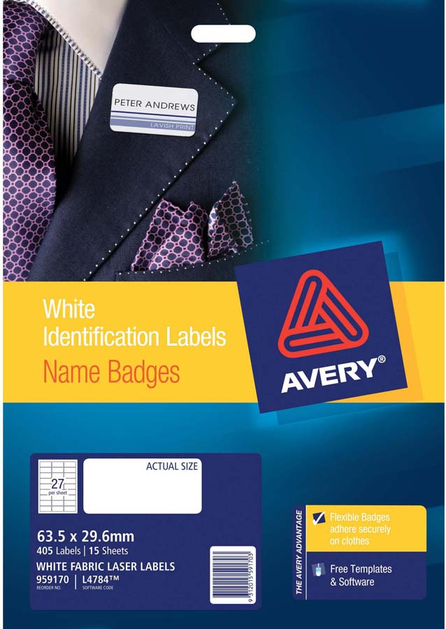 Avery Online Templates Avery Trueblock White Laser Shipping Labels